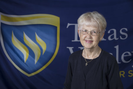 Jane Moore is a professor of Mathematics at Texas Wesleyan University