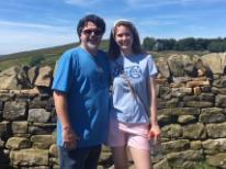 Maeer at Hadrian's Wall Summer 2018
