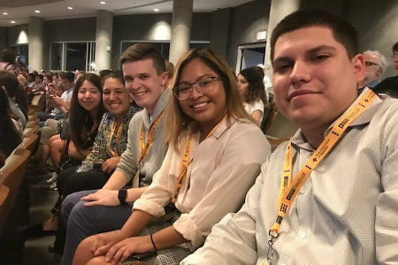 Hatton Sumners Scholars at Tribune Fest 2018 Closing Keynote with Beto O'Rourke, Austin