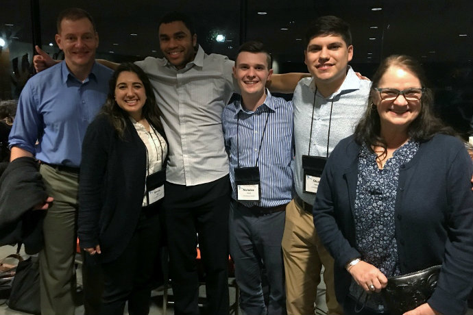 Hatton Sumners Students at Leadership Conference at the LBJ school/UT Austin, Feb 2019