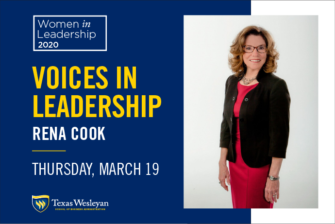 Image of Rena Cook 2020 Women in Leadership Forum Keynote Speaker