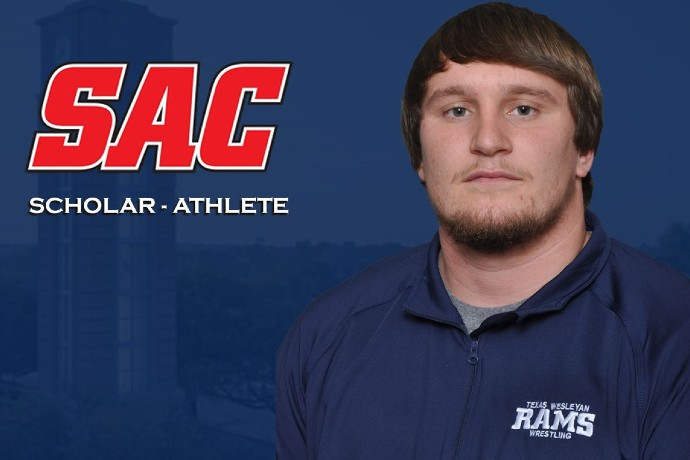 Photo of TXWES student-athlete Zane Miller, one of the SAC scholar-athletes honored