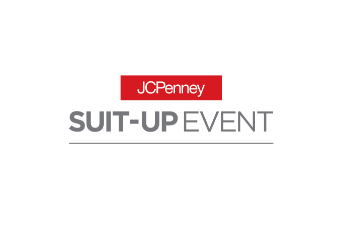 Logo of JCPenney Suit-Up event.