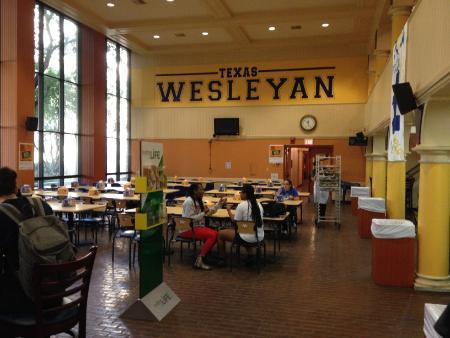 Photo from inside The Sub at Texas Wesleyan University.