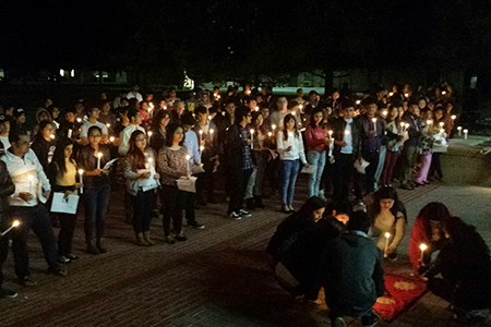 To show support for Nepalese students and that Wesleyan stands with Nepal, the office of student life scheduled several events and fundraisers during April and early May.