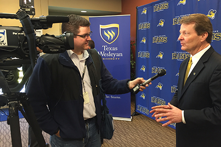 Check out this news story from reporter Chris Van Horne on NBC 5/KXAS about Texas Wesleyan's new football program, and its impact on economic growth and the revitalization of Southeast Fort Worth.