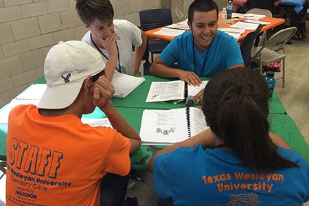 Chemistry Camp 'opens a window' for FWISD students