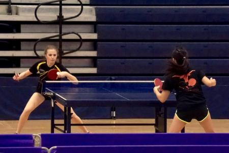 The Texas Wesleyan University table tennis team swept through the second of two NCTTA Texas Division Tournaments on Saturday. The Rams went undefeated, taking both the Coed and Women's Team titles.