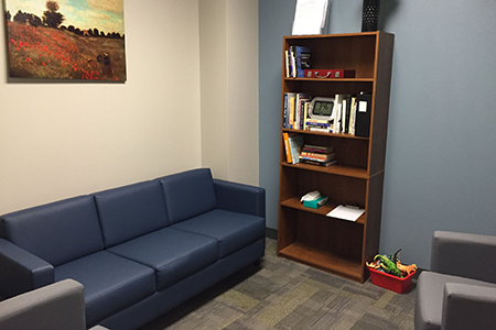 Cozy new treatment rooms, state-of-the-art technology and a wing of faculty offices are a welcome boon to the Texas Wesleyan University Counseling Center, which joined the Rosedale Renaissance in August when it moved to former retail space along the main drag.