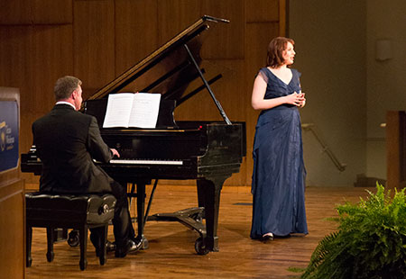 The 2015 President's Honors Concert is March 27 in Martin Hall.