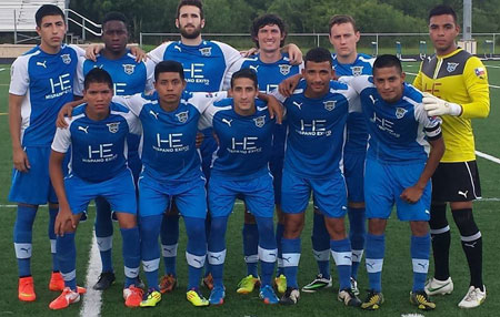 Arturo Sanchez and the Fort Worth Vaqueros Minor League Soccer Team