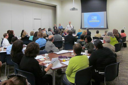Career Services hosts the Fort Worth Chamber of Commerce Job Links EXCELerator meeting