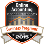 Online Accounting Degree Programs' 30 Best Small College Business Degree Programs 2015