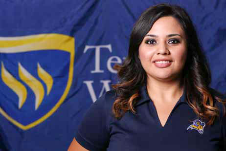 Admissions Counselor Karla Rodriguez