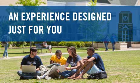 Our campus visit is an experience designed just for you.