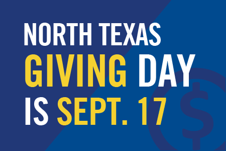 North Texas Giving Day is Thursday, Sept. 17.