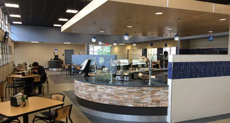 Dora's Dining Hall at Texas Wesleyan University