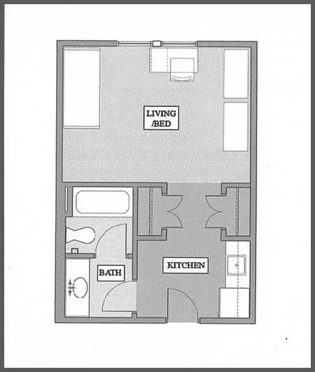 residential housing floor plans - texas wesleyan university