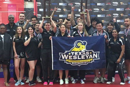 Texas Wesleyan table tennis won their 12th national title in 13 years