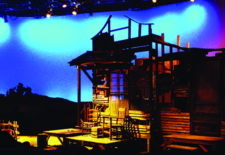 An image of the set from the show, Moon for the Misbegotten