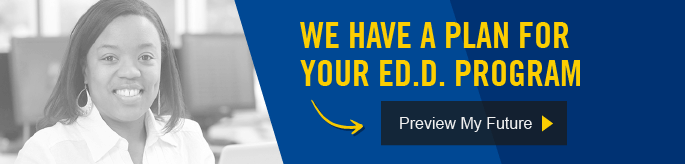 We have a plan for your Ed.D. program.