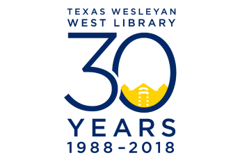 West Library's 30th anniversary logo