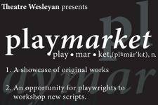 Artwork for Theatre Wesleyan's Playmarket